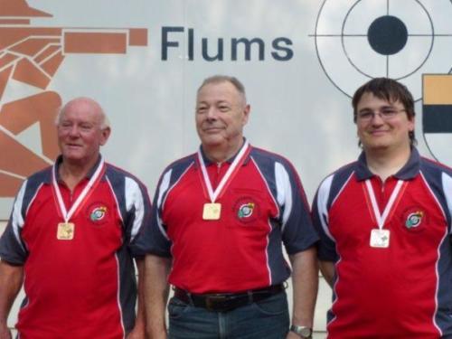 Siegerfoto Einzel Cup Final 2011