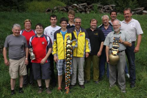 Siegerfoto Gruppenmeisterschaft 2012