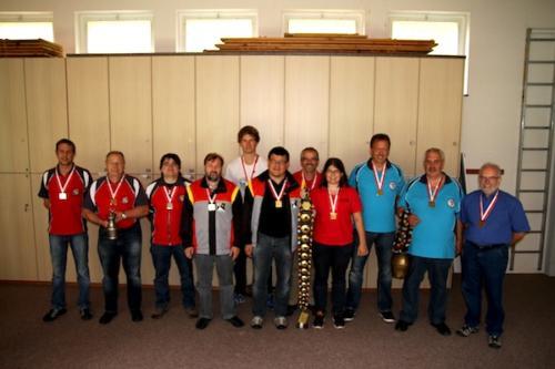 Siegerfoto Gruppenmeisterschaft 2014
