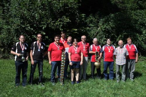 Siegerfoto Gruppenmeisterschaft 2015