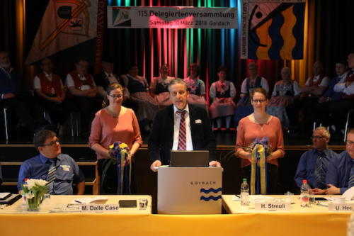Gemeindepräsident Dominik Gemperli