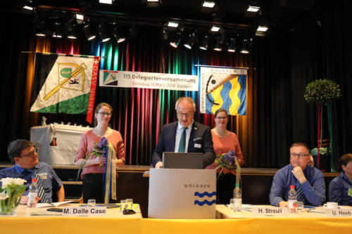 Präsident IG St. Galler Sport Josef Dürr