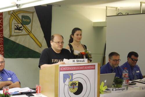 Präsident Schützengesellschaft Widnau