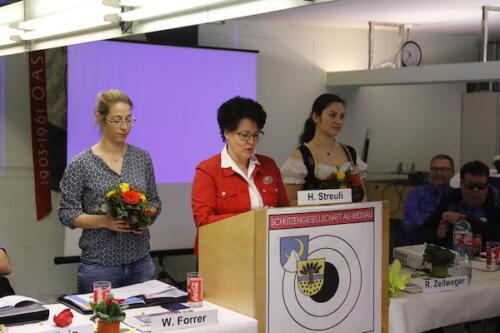 EASV-Präsidentin Gaby Graber